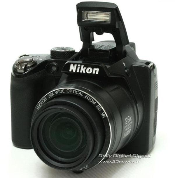 Удобный и эргономичный. Nikon Coolpix P100
